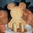 ミッキーの立体クッキー
