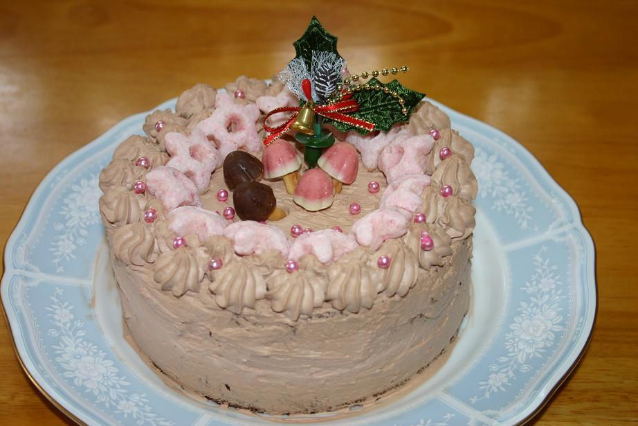 2007年クリスマスのケーキ