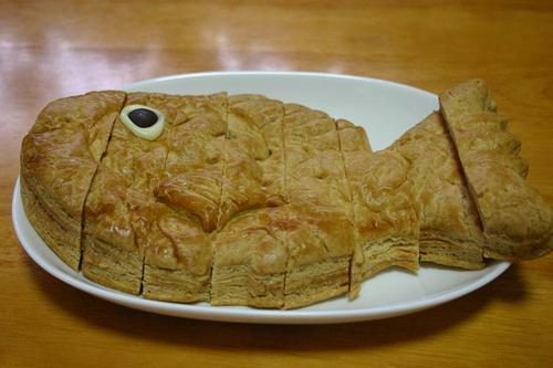 鯛のアップルパイ