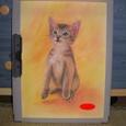 猫、描きました。